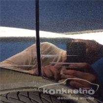 Царапина на двери автомобиля