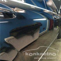 Полировка автомобиля тремя полировочными пастами