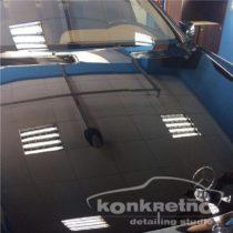 Полировка Mercedes Benz, чёрный насыщенный цвет