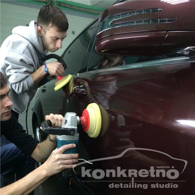 Полировка авто Детейлинг Mercedes-Benz