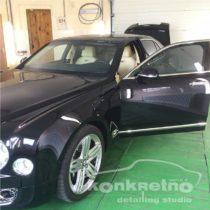 Полировка Bentley чёрного цвета