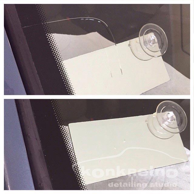 ремонт трещин автостекол