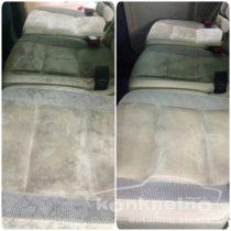 Химчистка тканевых сидений авто