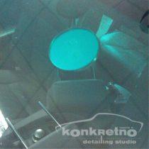 Ремонт большого скола на лобовом стекле