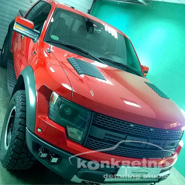 Полировка Ford внедорожник