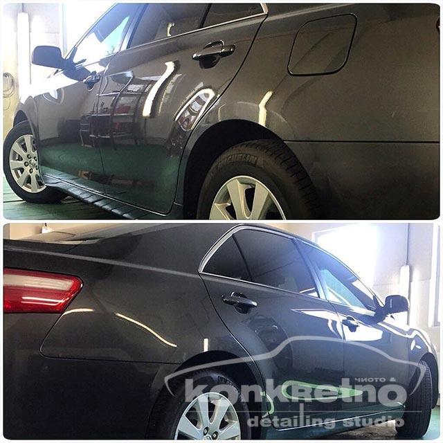 Полировка Toyota Camry и защита нанокерамикой