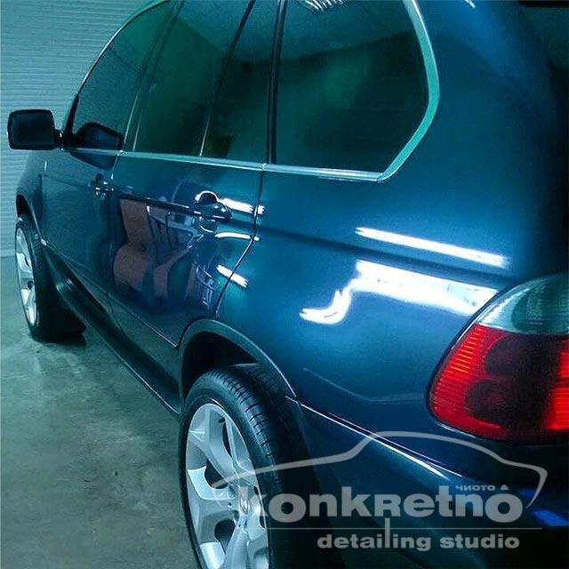 полірування авто BMW