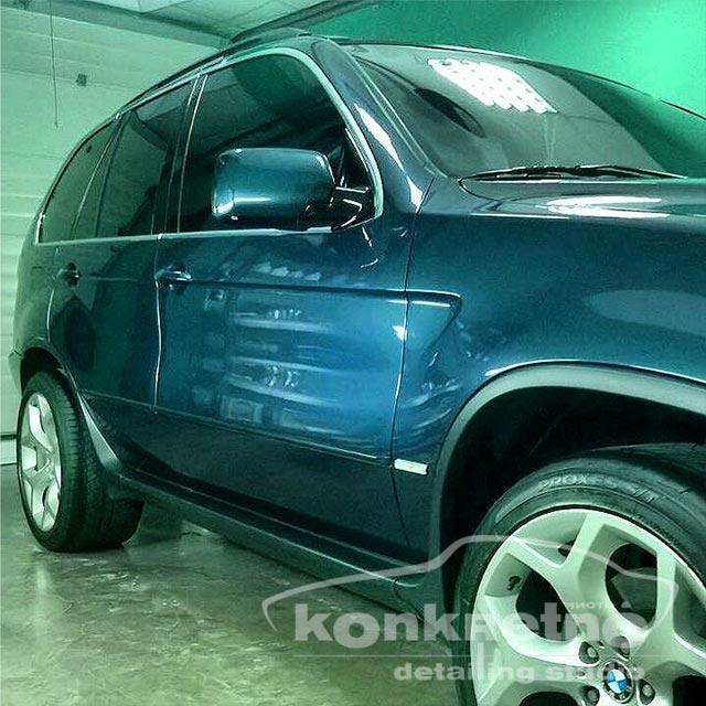 поліровка авто BMW