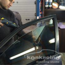 Растонировка боковых стекол авто